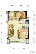 佳源・英伦都市3室2厅1卫103平方米户型图