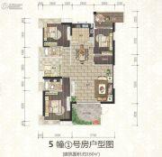 海博一品4室2厅2卫160平方米户型图
