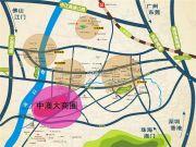中澳滨河湾交通图