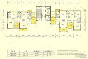 新澳城市花园4室2厅2卫110--140平方米户型图