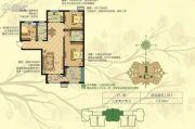 淳茂公园城3室2厅1卫118平方米户型图