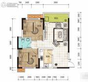 华侨假日中心2室1厅1卫76平方米户型图