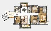 中山碧桂园天玺湾4室2厅2卫140平方米户型图