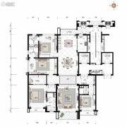沈阳星河湾4室3厅4卫287平方米户型图