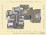 中渝山顶道国宾城4室2厅3卫138平方米户型图