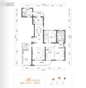 金茂广场5室2厅4卫269平方米户型图
