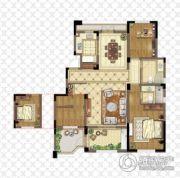 金浦御龙湾3室2厅2卫122平方米户型图