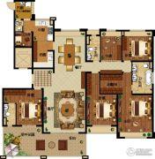 碧桂园龙城5室2厅3卫274平方米户型图