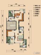浪琴湾2室2厅0卫70平方米户型图