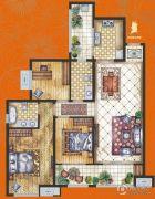 腾业・国王镇3室2厅2卫0平方米户型图