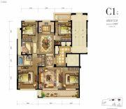 新希望・白麓城4室2厅3卫138平方米户型图