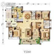 碧桂园・贵安1号6室2厅3卫0平方米户型图