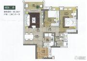 邦华翠悦湾2室2厅1卫69平方米户型图