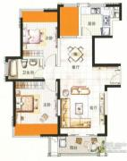中环国际公寓三期0室0厅0卫0平方米户型图
