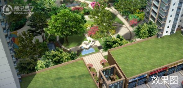 怡景豪庭园林效果图
