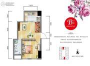 安通・缘梦天地1室1厅1卫49平方米户型图