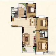 高教公寓3室2厅2卫133平方米户型图