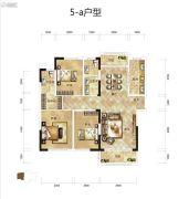 骧龙国际3室2厅2卫135平方米户型图