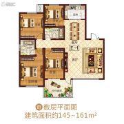 龙之光・国际中心4室2厅2卫0平方米户型图