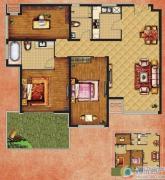 K2清水湾3室2厅2卫112平方米户型图