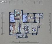 华润・二十四城3室2厅2卫106平方米户型图