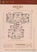 盈信・帝�Z3室2厅0卫128--210平方米户型图