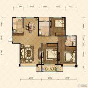 国信・国际公馆3室2厅2卫132--136平方米户型图