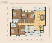 南方梅园4室2厅2卫222--226平方米户型图