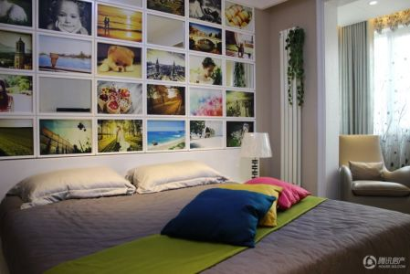 卓越手绘室内卧室