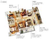 五经・山水大观4室2厅2卫134平方米户型图