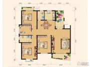 雅厦・中央山水4室2厅2卫164平方米户型图