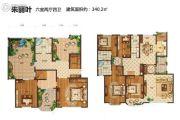 玫瑰湾香颂6室2厅4卫340平方米户型图