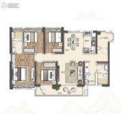 广州亚运城4室2厅2卫135平方米户型图