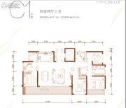 蓝光长岛国际社区4室2厅3卫0平方米户型图