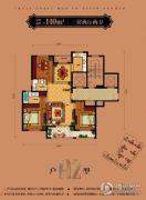 佳源名溪花苑3室2厅2卫140平方米户型图