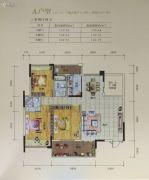 南景湾山水城3室2厅2卫122--130平方米户型图