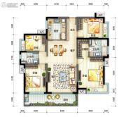 万科・珠江东岸4室2厅2卫0平方米户型图