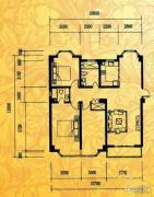 酉酉LOFT公寓2室2厅1卫139平方米户型图