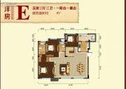 香颂诺丁山5室3厅3卫0平方米户型图