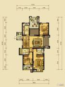 翰林世家3室2厅2卫132平方米户型图