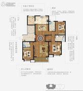上林熙园3室2厅3卫167平方米户型图