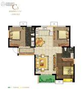 保利・心语花园3室2厅2卫117平方米户型图