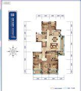 绿城桃源小镇5室2厅4卫0平方米户型图