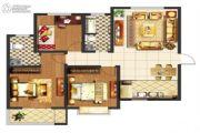 阳光尚苑3室1厅2卫118平方米户型图