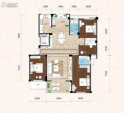畔山林语4室2厅2卫172平方米户型图