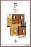 尚东金汇3室2厅1卫118平方米户型图