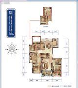 绿城桃源小镇4室2厅3卫0平方米户型图