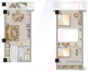 杉杉・普陀天地0室0厅0卫50平方米户型图