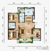 芭东海城3室2厅2卫112平方米户型图