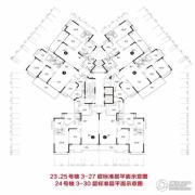 恒大雅苑4室2厅2卫138平方米户型图